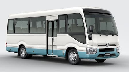 Shuttle for 11 to 15 passengers (Toyota Coaster)