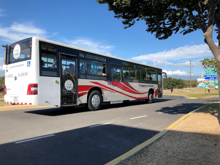 Liberia Airport to Tamarindo Public Bus