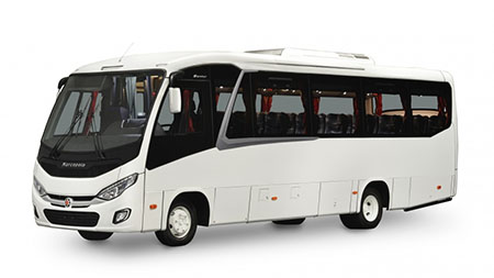 Shuttle for 16 to 25 passengers (Marcopolo Senior)