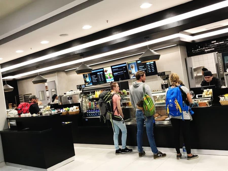 Britt Cafe Bakery Liberia Airport
